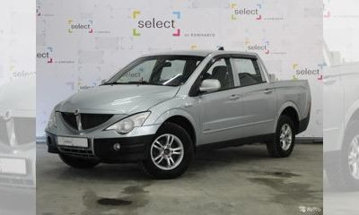 SsangYong Actyon Sports, 2010 - отзывы
