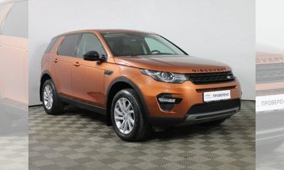 Land Rover Discovery Sport, 2017 - отзывы