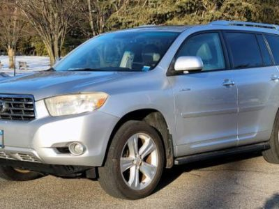 2008 Toyota Highlander Limited Вершина горы!
