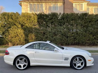 2011 MERCEDES SL550 CONV WHT / BEIGE MINT LOADED PANO ROOF FINANCE TRADE
