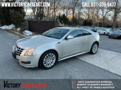 2013 Cadillac CTS Coupe 2dr Cpe AWD