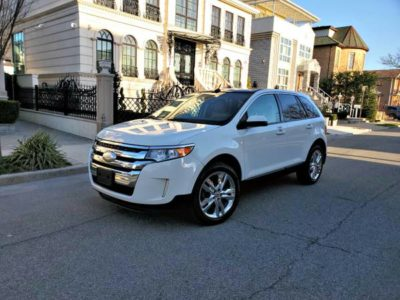 2013 Ford Edge SEL 4WD Только 84k Mil Navigation Carfax Clean!