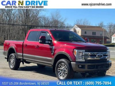 2017 Ford F-250 F250 F 250 Sd King Ranch Crew Cab Long Bed 4WD