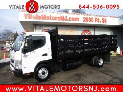 2014 Mitsubishi Fuso FE 16 FOOT PLACE BED, СТОЙКА КУЗОВА