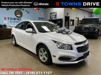 2016 Chevrolet Chevy Cruze Limited 4dr Sdn Auto LT с 1LT