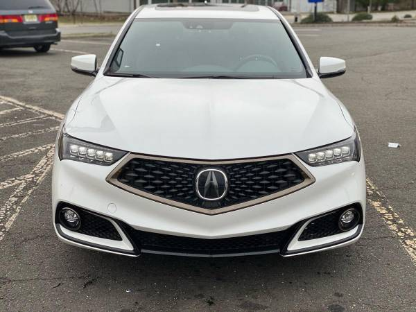 2019 Acura TLX SH AWD V6 w / Tech w / A SPEC 4dr Sedan w / Technology и A Package (красный интерьер)