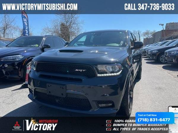 Dodge Durango SRT 2018 года