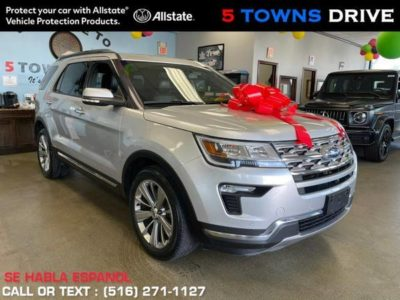 Ford Explorer Limited 4WD 2018 года