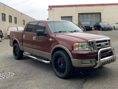 Ford F150 4wd King Ranch Edition 2005 года