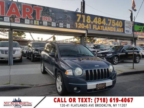 Jeep Compass 4WD 4dr Limited 2007 года выпуска