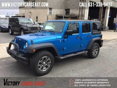 Jeep Wrangler Unlimited 4WD 4dr Sport 2015 года