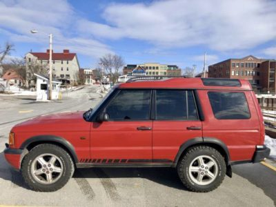 Land Rover Discovery II 2000 года