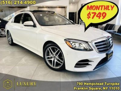 Mercedes-Benz S-Class S 450 4MATIC Sedan 749 2018 года