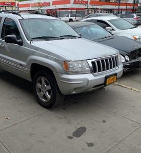 Jeep Grand Cherokee Limited 2004 года выпуска