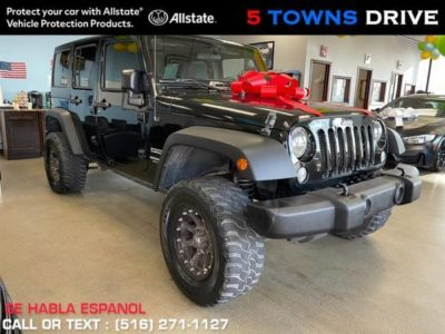 Jeep Wrangler Unlimited 4WD 4dr Sport 2016 года