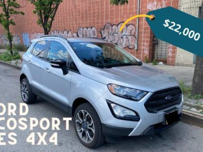 FORD ECOSPORT SES 4x4 2019 г.