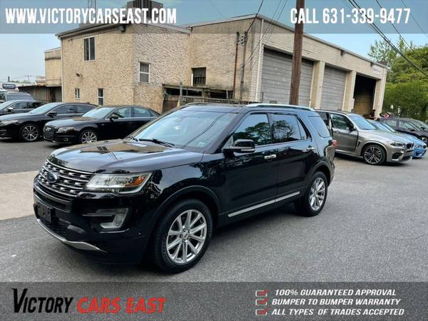 Ford Explorer Limited 4WD 2017 года