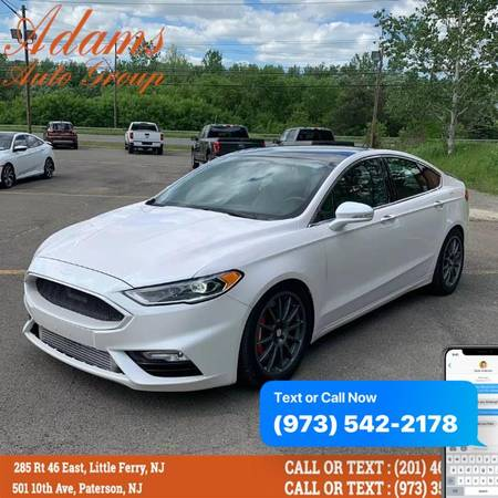 Ford Fusion Sport 2017 года